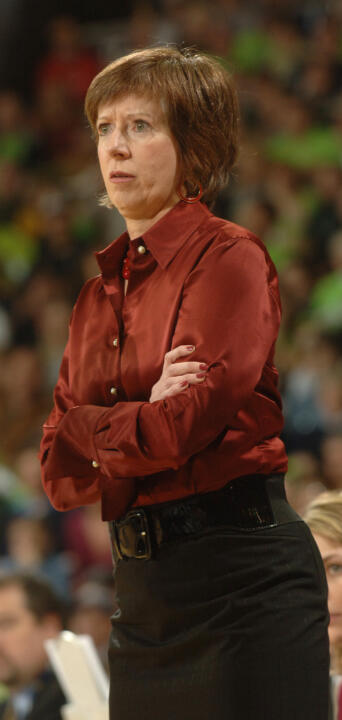 Head coach Muffet McGraw is set to begin her 23rd season at Notre Dame this fall, having piloted the Fighting Irish to a 496-197 record and 16 NCAA Championship berths (including a current string of 14 in a row) during her storied career.