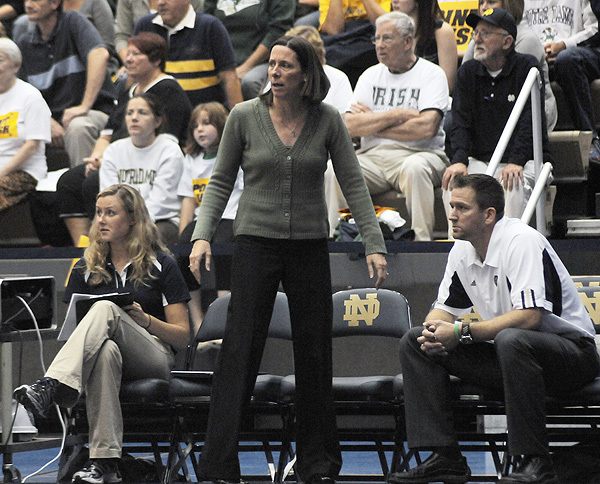 BIG EAST Coach of the Year Debbie Brown has her Irish on a 14-match winning streak.