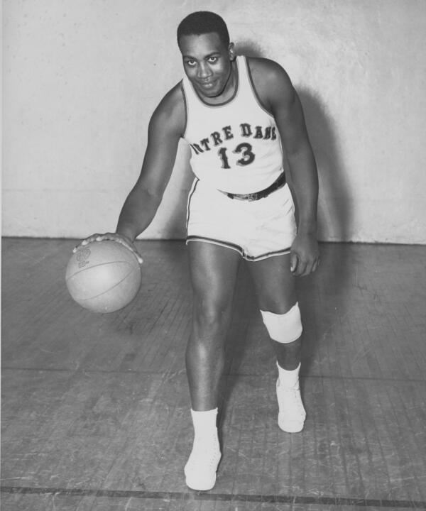 Shine averaged 5.5 points per game while helping the Irish get off to a 7-1 start in the 1951-52 season.
