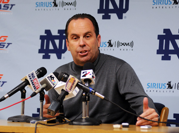 Mike Brey signed three to national letters of intent on the first day of National Signing Day.