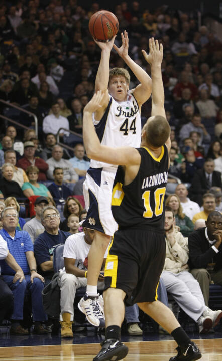 Luke Harangody had 29 points and 12 rebounds (AP)