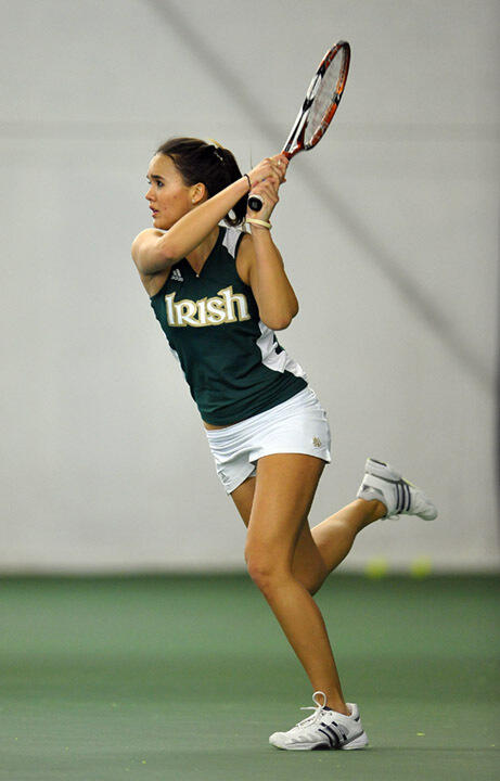 Sophomore Kristy Frilling went 3-0 at the Master'U BNP Paribas.