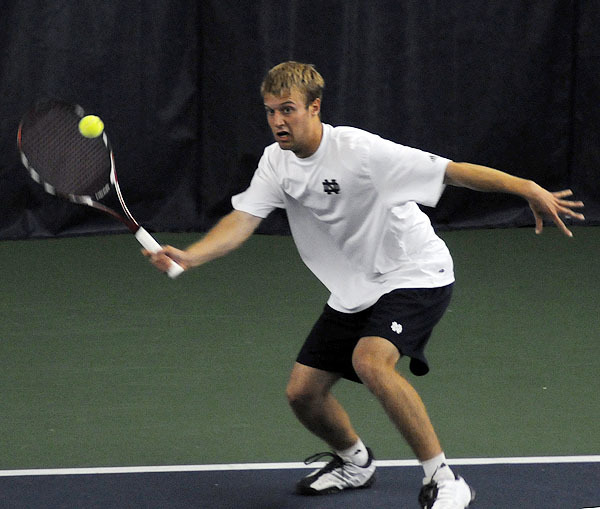 David Anderson had two singles wins on Sunday.