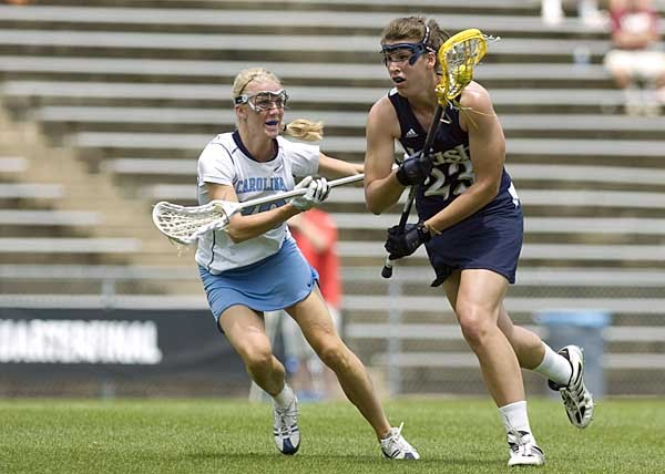 Junior Kailene Abt and her Notre Dame teammates are ranked ninth in Lacrosse Magazine's preseason poll.