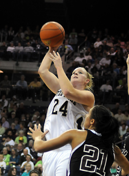 Fifth-year senior guard/tri-captain Lindsay Schrader was one of seven Division I players added to the 2009-10 State Farm Wade Trophy Watch List, it was announced Thursday by the Women's Basketball Coaches Association (WBCA).