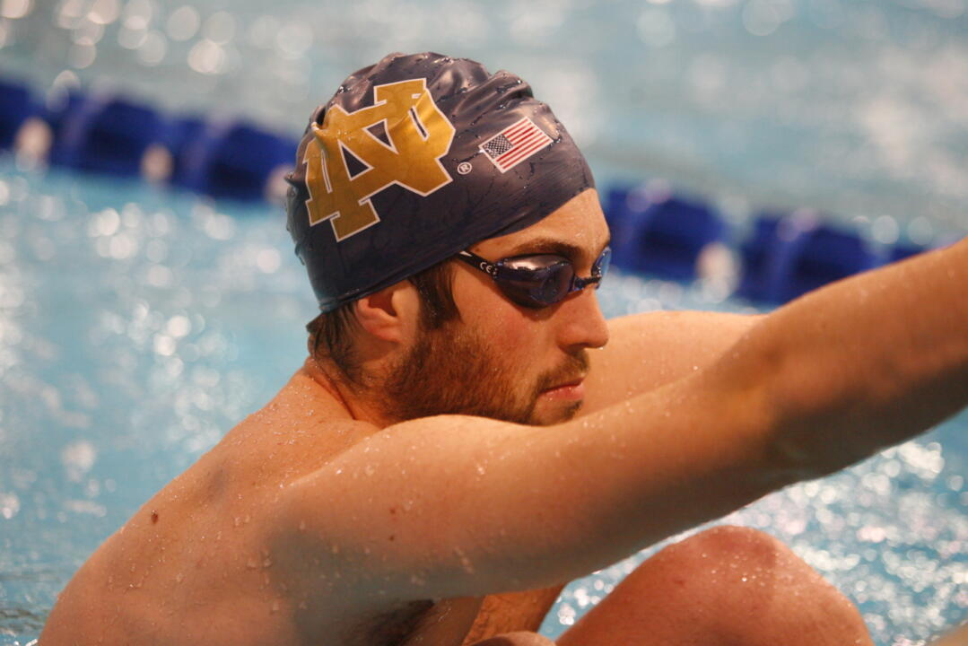 Notre Dame starts the second session of the Shamrock Invite Saturday morning at 10:00 a.m. (ET).