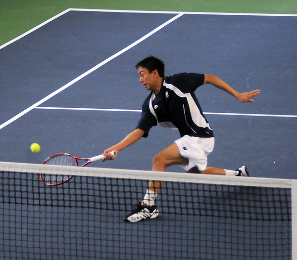 Sean Tan and the Irish have three home matches this weekend.