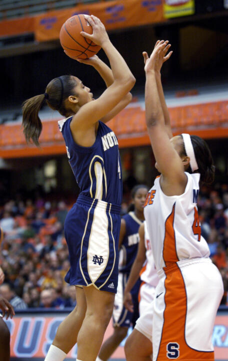 Skylar Diggins became the third Notre Dame player to be named BIG EAST Freshman of the Week four times in one season when she picked up her fourth award on Monday.