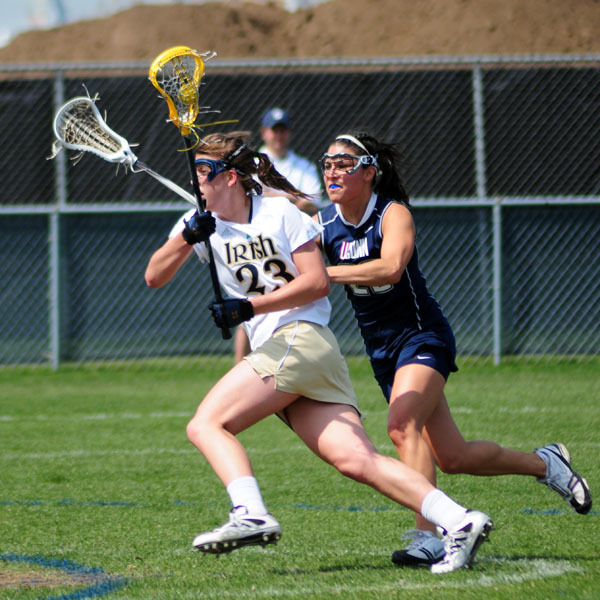 Junior midfielder Kailene Abt has a team-high 14 points (10G-4A) this season as the #15/9 Fighting Irish head to #11/12 Boston University for a non-conference matchup on Saturday (noon ET) at Nickerson Field.