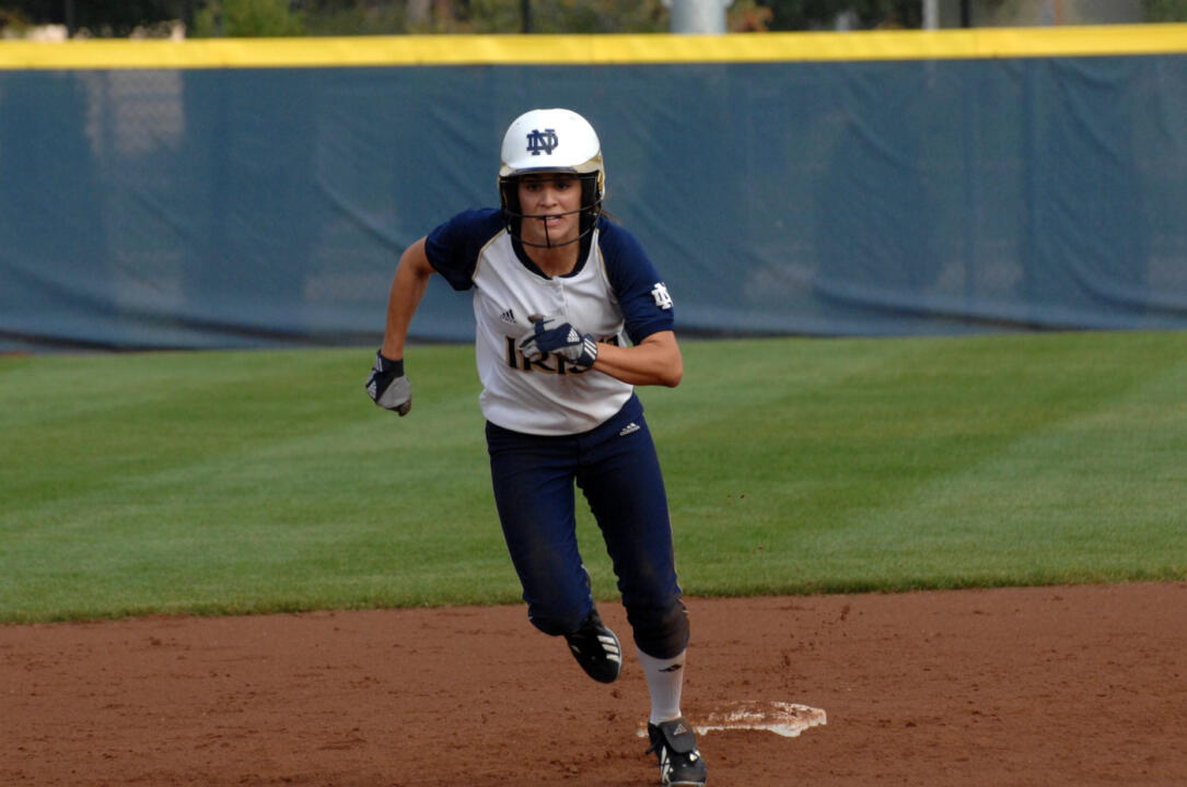 Alexa Maldonado paced Notre Dame with two hits at Loyola-Chicago.