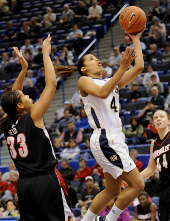 Freshman guard Skylar Diggins was named to the 2010 BIG EAST All-Tournament Team, it was announced Tuesday night following the tournament title game in Hartford, Conn.