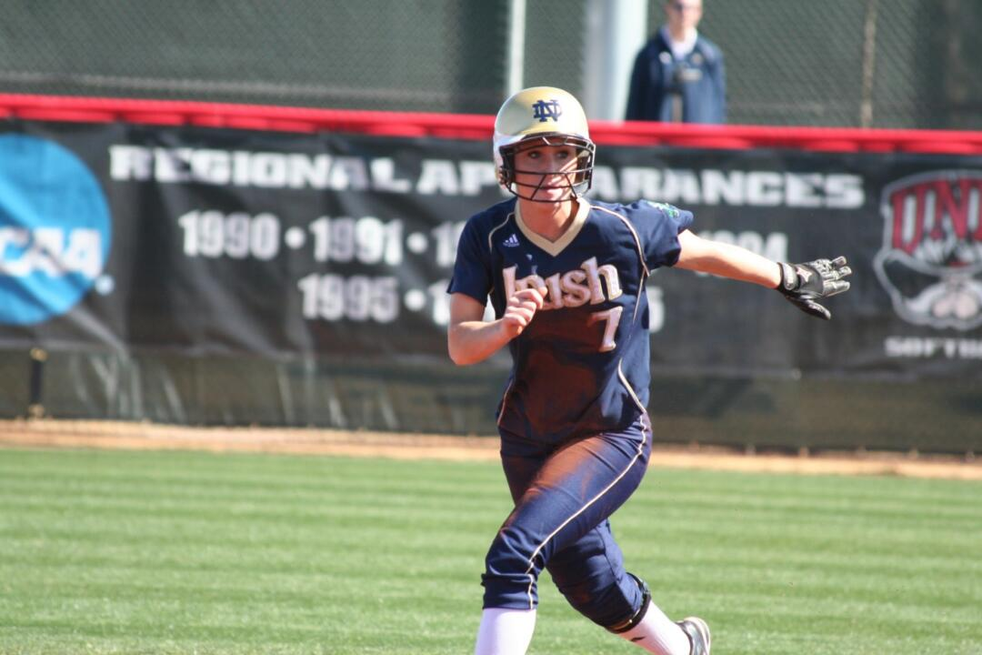 Sadie Pitzenberger has had at least one hit in each of the last 26 games.