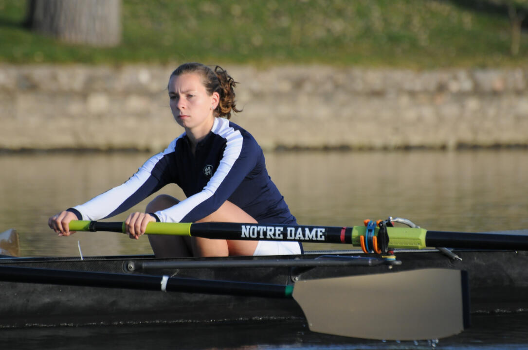 Senior Andrea Archer and the varsity four boat were one of five Irish boats to capture gold at the 2010 BIG EAST Championships