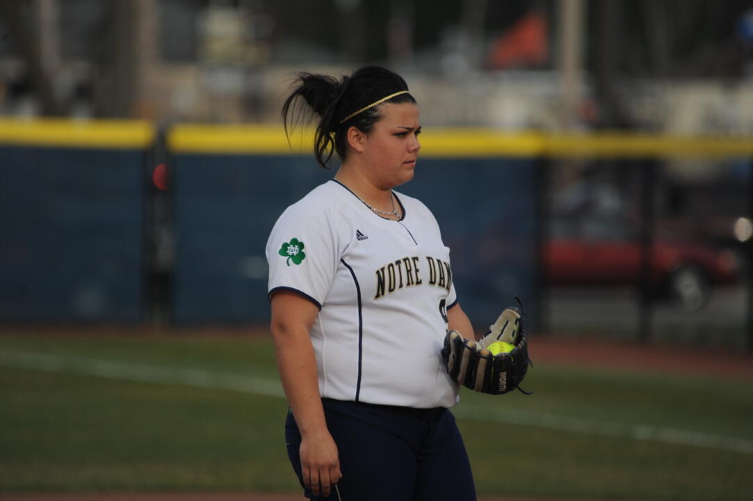 Jody Valdivia punched in a second straight shutout over Rutgers Saturday at Melissa Cook Stadium.