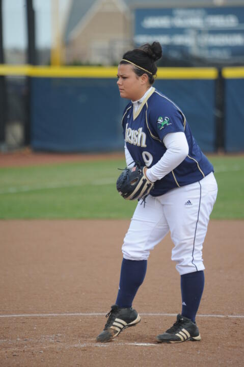 Jody Valdivia blanked No. 25 Louisville Saturday at Ulmer Stadium.