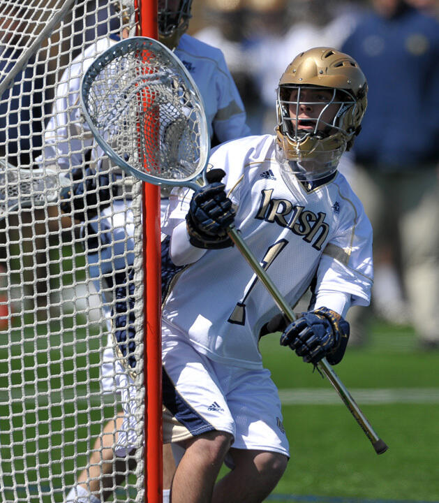 Freshman goalie John Kemp and the Irish defense held Providence to just three goals. Kemp made five saves to earn his first career victory.