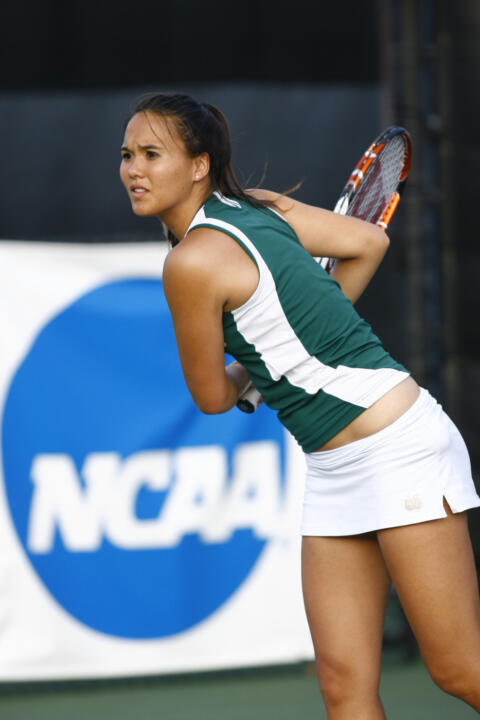 Sophomore Kristy Frilling will compete in both the NCAA singles and doubles tournaments this week.