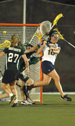Notre Dame All-American and Tewaaraton Trophy finalist Crysti Foote will serve as an instructor at the Notre Dame women's lacrosse summer camp - June 27-30.