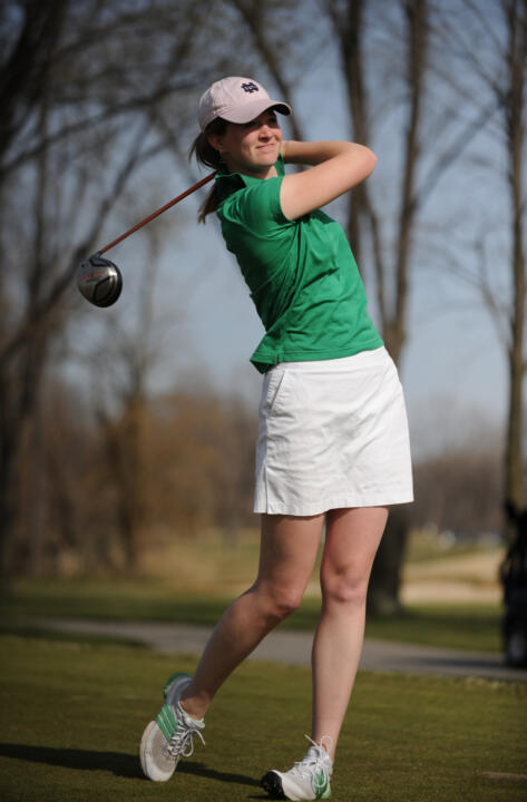 Becca Huffer earned a 4&3 win on Wednesday.
