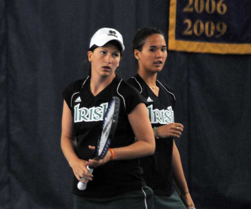Kristy Frilling and Kali Krisik were both named as 2010 ITA All-Americans for their doubles play on the season. Frilling also was tabbed as a singles All-American.