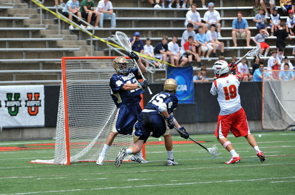 Scott Rodgers and the Notre Dame defense allowed just 5.75 goals per game during the 2010 NCAA Championship.
