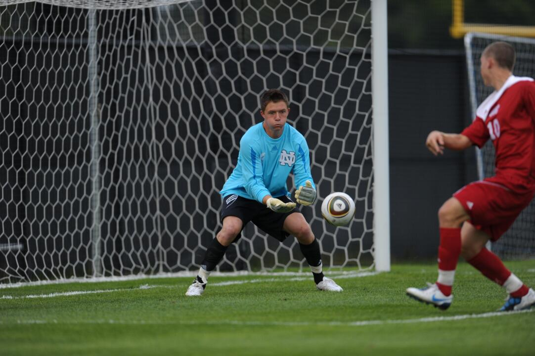 Junior goalkeeper Will Walsh made a career-high seven saves on Friday against Michigan.