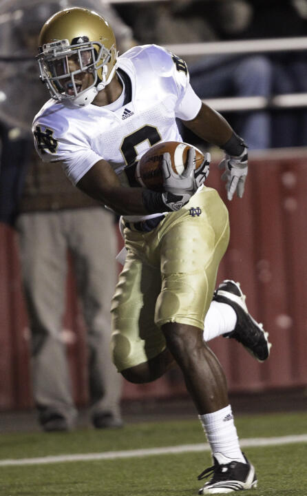 Sophomore Theo Riddick and the Irish face Pittsburgh this afternoon, looking to even their season record at 3-3.
