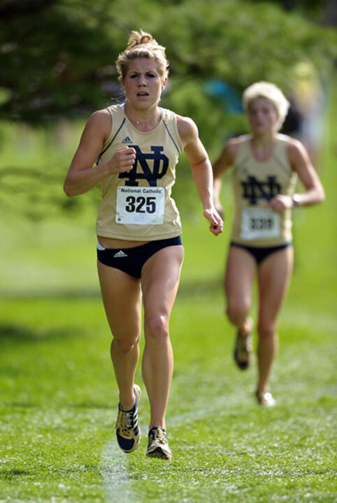 Ferguson finished third in 20:58.62 at the 2009 NCAA Great Lakes Regional meet.