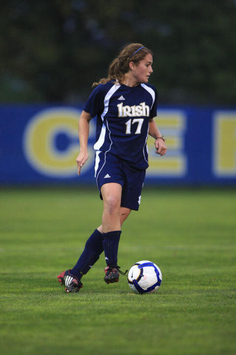 Junior defender Courtney Barg leads Notre Dame's defensive corps into the NCAA Tournament.