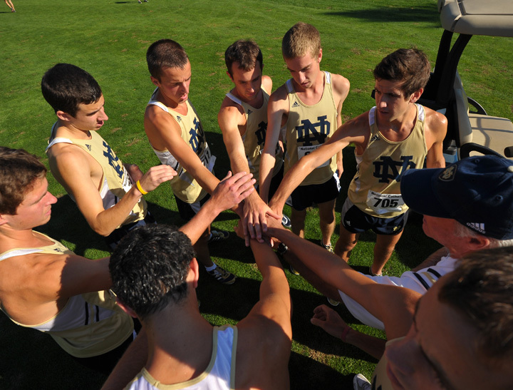 The Irish earned an at-large bid to the NCAA Championship in Terre Haute, ind.