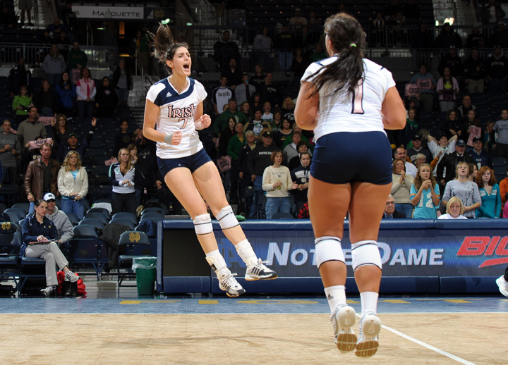 Kellie Sciacca earned her third all-BIG EAST citation in as many years Thursday evening.
