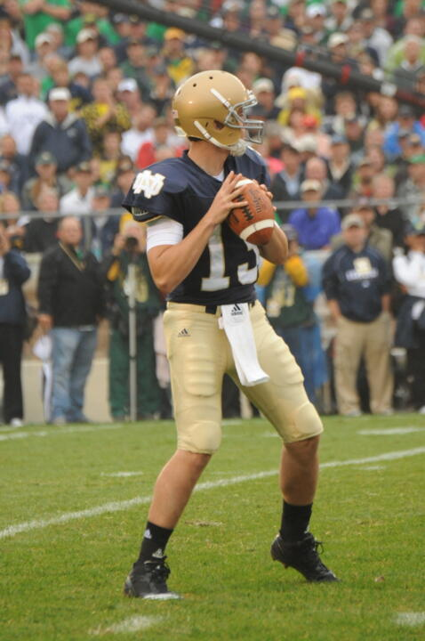 Freshman quarterback Tommy Rees, who became the first Notre Dame rookie signal-caller in three decades to lead the Fighting Irish to a win over a ranked opponent in his first start, headlined this week's UND.com Fighting Irish Fan Chat.