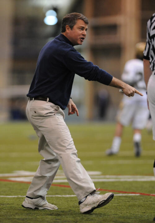 Head coach Kevin Corrigan has lined up another solid schedule for the Irish in 2011.