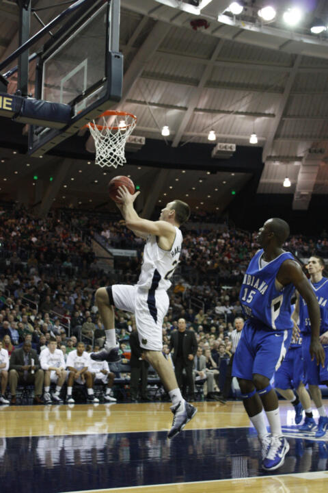 Ben Hansbrough scored a career-high 24 points last Tuesday against Indiana State.