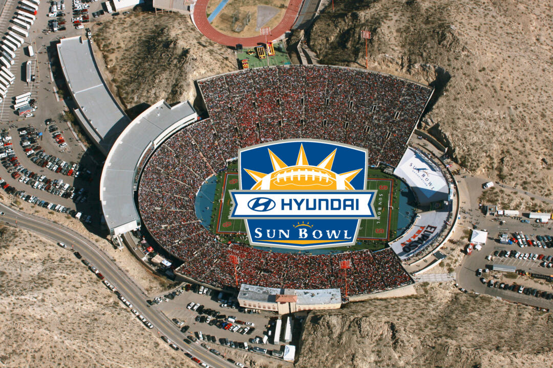 The Irish and Hurricanes will battle for the 2010 Hyundai Sun Bowl Trophy on Friday afternoon.