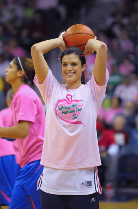 Notre Dame will hold its annual Pink Zone game Feb. 12 when it plays host to Rutgers at 2 p.m. (ET) at Purcell Pavilion.
