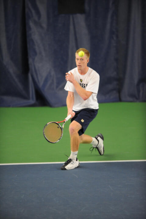 Casey Watt assisted in clinching the doubles point.