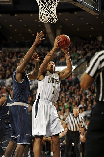 Senior forward Tyrone Nash registered a double-double against Georgetown with 15 points and 10 rebounds.