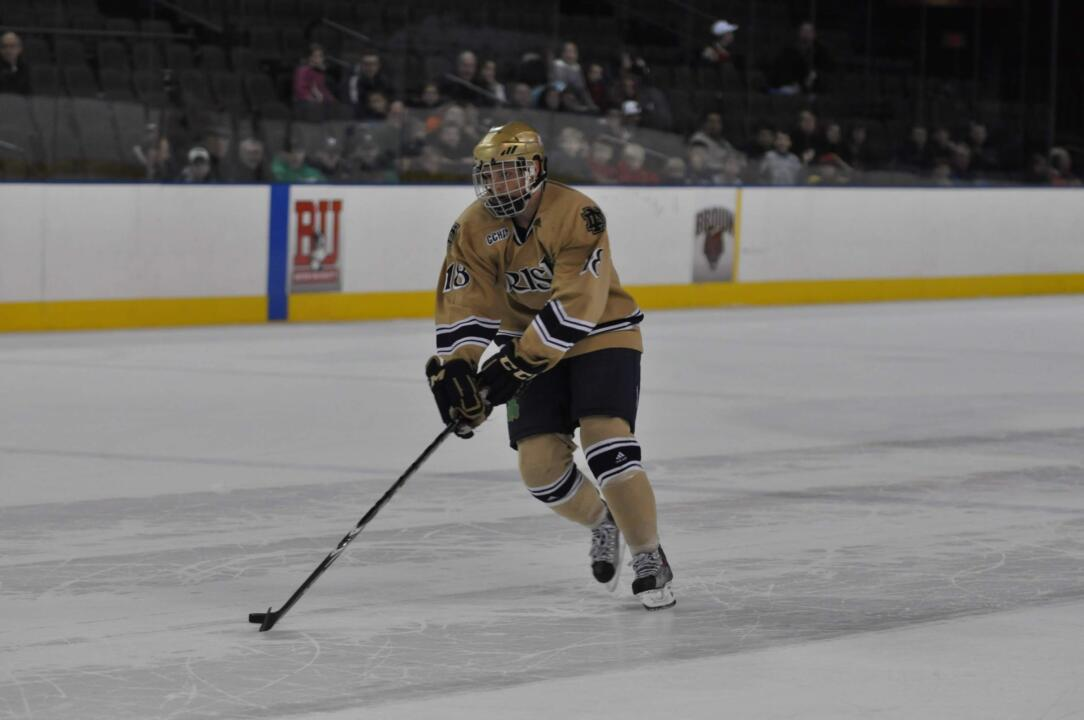 Freshman center T.J. Tynan is the CCHA rookie of the week for the week ending Jan. 9.  This marks the fourth time this season that he has won the award.
