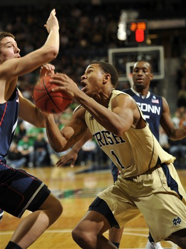 Senior forward Tyrone Nash and the Irish will look to improve to 12-0 at home this season.