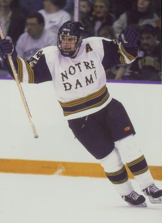 Defenseman Benoit Cotnoir was Notre Dame's first All-American since 1983 when he took honors in 1999.