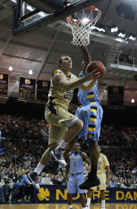 Ben Hansbrough scored a career-high 28 points on Saturday versus Marquette.