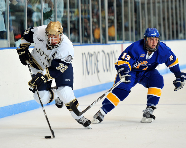 Senior left wing Calle Ridderwall is one of 10 finalists for the Lowe's Senior CLASS Award in hockey.