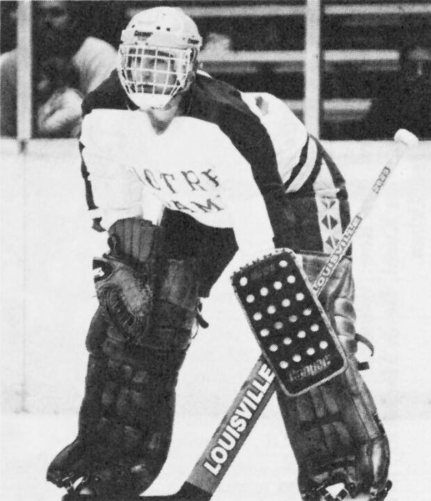 Lance Madson '90 was selected as the goaltender on the All-Joyce Center third team.  The second team will be announced on Feb. 24 and the first team on Feb. 26.