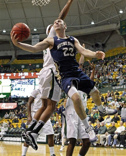 Ben Hansbrough leads the Irish in scoring, assists and steals.