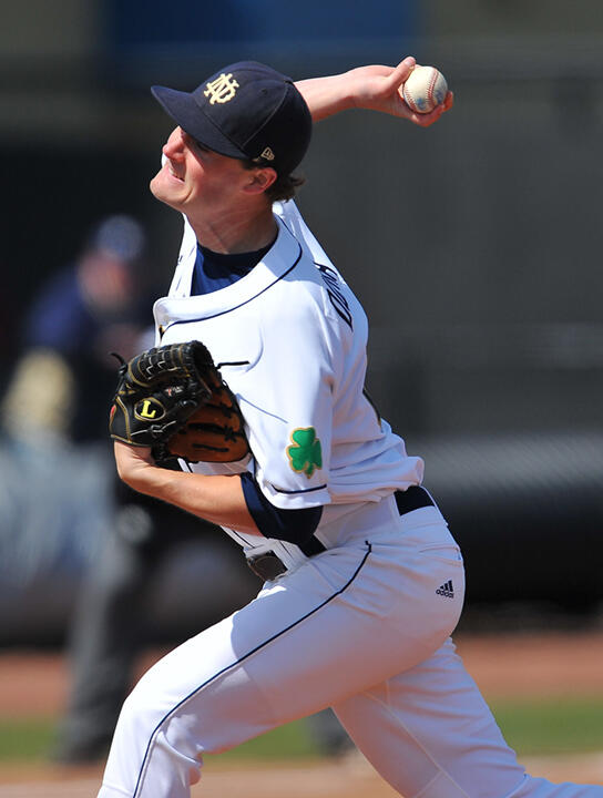Junior RHP Brian Dupra struck out 10, his second straight outing with at least 10 punch outs.