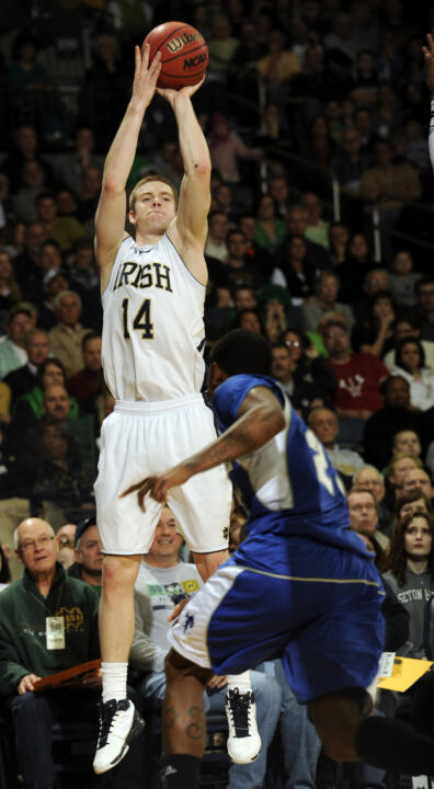 Scott Martin averaged 16.0 points and 5.5 rebounds in Notre Dame's two BIG EAST Tournament games