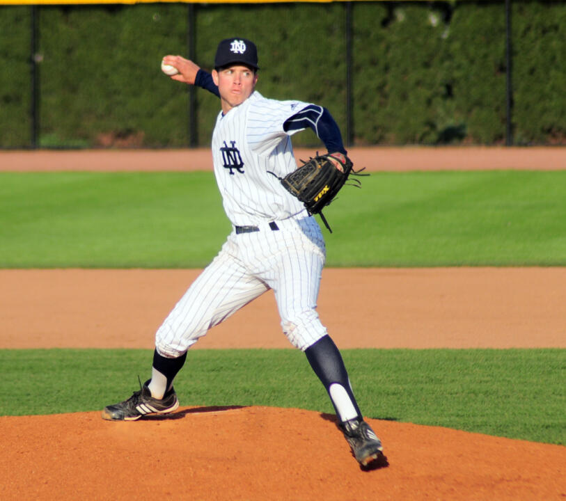 Sophomore RHP Adam Norton.