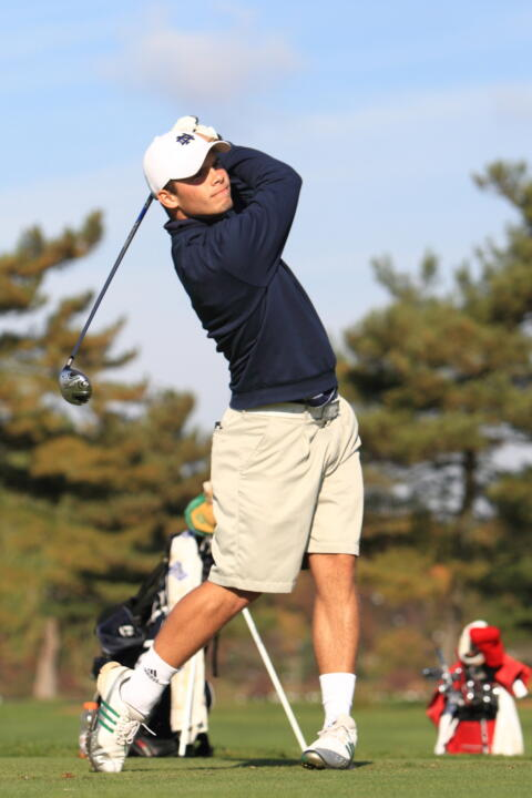 Max Scodro led the Irish rotation with a two-under par, 69 at the Battle at the Warren.