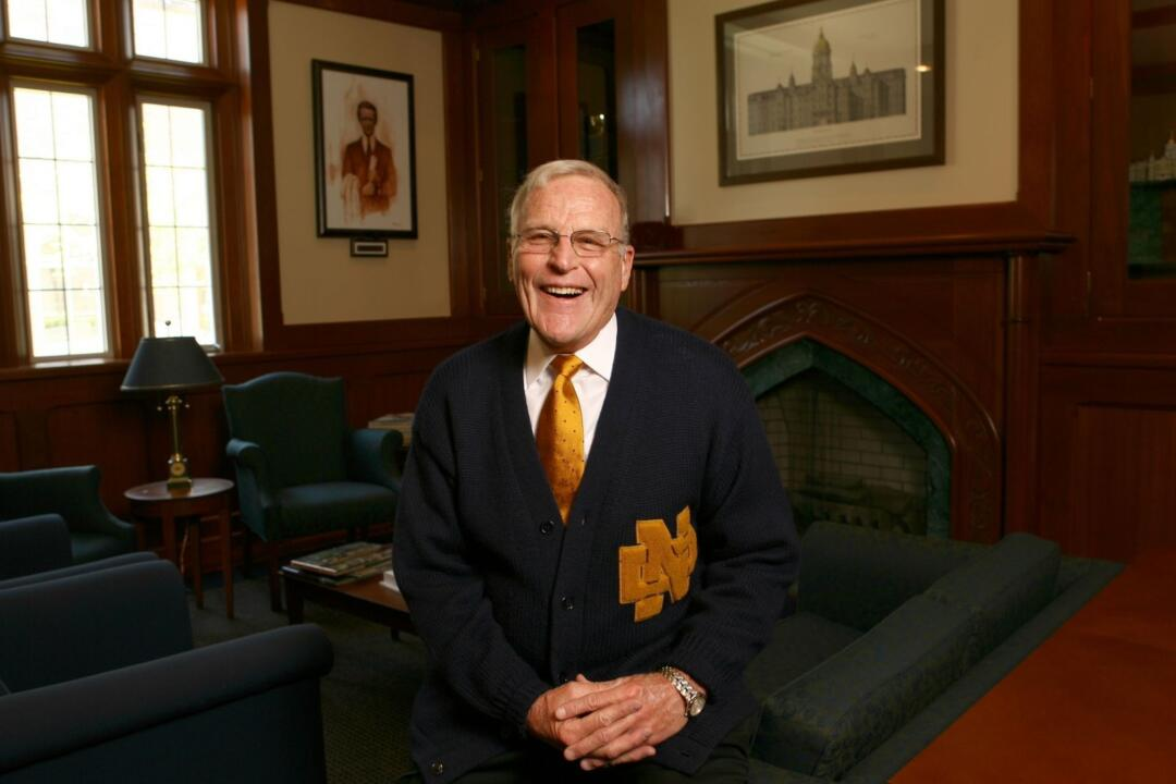 Chuck Lennon has served as the executive director of the University's Alumni Association since 1981.